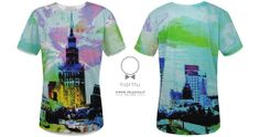 T-shirt designed by  artist KRIS RUDOLF. High quality, certificated cotton.