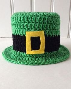 Maggie's Crochet · St Patricks Day TP Topper Free Pattern