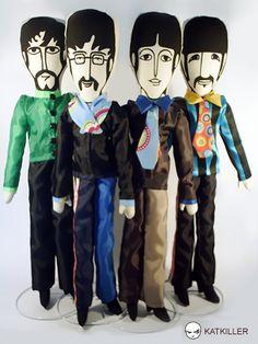 George, John, Paul and Ringo  Knuffels à la carte blog