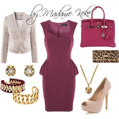 """Business Lunch Meeting"" by kekek on Polyvore #outfit #look #style"