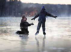 Фотография frozen lake.. автор Elena Shumilova на 500px