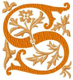 Camalot monogram machine embroidery alphabets