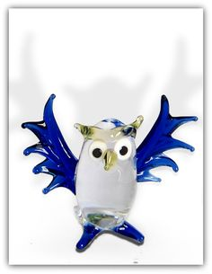 Glass figure: OWL  Each figure is best crafted  Ideas from colorful glass  Height approx. 5 cm  Length approx. 6 cm    Especially the glass figures are particularly popular. This cute animal replicas are also wonderful decorations that will draw everyone's attention. A beautiful gift idea. | Shop this product here: spreesy.com/Marketplace3000/9 | Shop all of our products at http://spreesy.com/Marketplace3000    | Pinterest selling powered by Spreesy.com