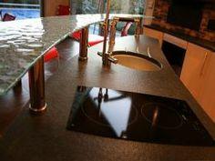 Cozinha em Granito Escuro 2 - www.mogranitos.pt