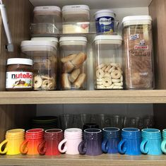 Dream Rooms, New Room, Home Organization, Nutella, Pantry, Mason Jars, Room Decor, Decorations, Kitchen