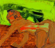 Jenni Hiltunen: Evolution (2013), 40 x 45 cm, Acrylic on canvas, GF 7078, www.jennihiltunen.com