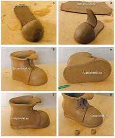 0dbadb40c06670 Мастер класс изготовления поделок из керамики для начинающих. Ceramic  ShoesCeramic ...