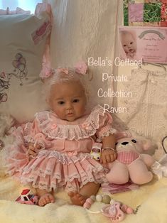 Girls Dresses, Flower Girl Dresses, Reborn Dolls, Cottage, Wedding Dresses, Baby, Collection, Dresses Of Girls, Bride Dresses