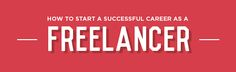 Are you having a difficult time as a freelancer? Learn how to rise above your current work situation today.