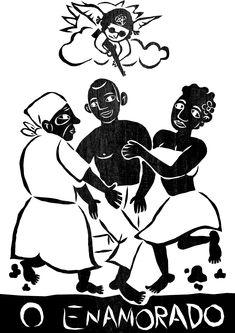 O Enamorado- Envolvimento afetivo, livre arbítrio, união figuram nos ícones de  Coco de Roda (Dança tradicional do Nordeste, o coco de roda tem sua origem na união da cultura negra com os povos indígenas no Brasil.