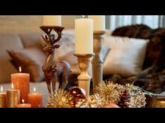 Weihnachtsdeko - Tischdeko selber basteln - YouTube