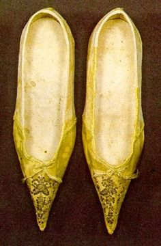 Woman's shoes, 1800