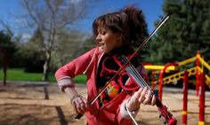 Spontaneous Me -Lindsey Stirling (original song) a dancer violinist......listen man, there are no rules now.....