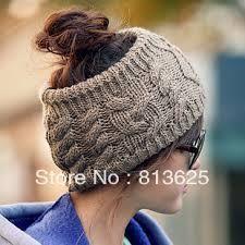 Liva Girl Women Winter Hats Women Knitted Hat without twist knitting wool hat fashion warm head cap Knitted Headband, Knitted Hats, Wool Hats, Crochet Headbands, Headband Pattern, Crochet Braids, Baby Headbands, Bandeau Torsadé, Hijab Mode