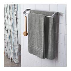 FRÄJEN Drap de bain IKEA Serviette éponge souple d'épaisseur moyenne. Haute capacité d'absorption (poids 500g/m2).
