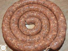 Carnat de porc Sausage, Desserts, Home, Pork, Fine Dining, Tailgate Desserts, Deserts, Sausages, Postres