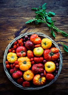 End of Summer Tomatoes