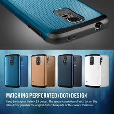 Genuine SGP Galaxy S5 Neo Hybrid Case Original Spigen Premium Dual Layered Durable Protective Cases for Samsung Galaxy S5 / Galaxy SV