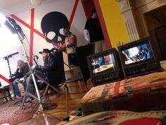 """Eu, gravando depoimentos das participantes do reality show """"Papito in Love"""", com Supla, para a nova MTV. (2013)"""