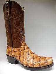 1000 images about men exotic cowboy boots on pinterest for Pirarucu fish boots