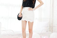 I want to own a million cute mini skirts.