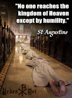 Humility has many visuals & sometimes it may not even be something seeable, sks