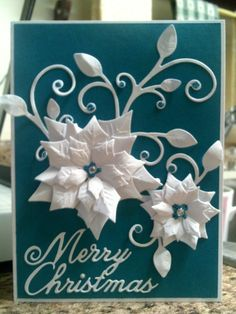 FS464 & CCC16: White Silhouette by Precious Kitty - Cards and Paper Crafts at Splitcoaststampers