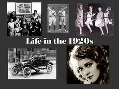 Life in the 1920's
