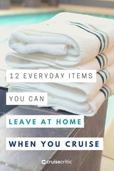 Here are some of the major things you don't need to pack for a cruise. Don't bother to lug lots of books along, since ships have onboard libraries. Packing For A Cruise, Cruise Tips, Luxury Cruise Lines, Cruise Critic, Vacation Style, Resorts, Alaska, Suitcase, Ships