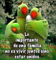 Lo Importante  De Una  Familia No  Es Vivir Juntos Sino  Unidos.. Sin  Duda  Alguna Nuestra Familia Es  Nuestro  Mayor  Tesoro... ❤..