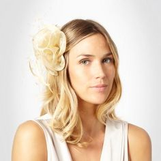 This gold ruffles fascinator from Debut has an organza ruffle elegantly finished with long curled feather plumes, on a hinged clasp. Hat Boxes, Ruffles, Hair Makeup, Long Hair Styles, Polyvore, Gold, Stuff To Buy, Beauty, Beleza