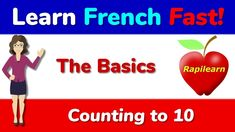 Learn how to count from 0 to 10 in French Learn French Fast, French Numbers, France Travel, Counting, Singing, Journey, Learning, Music, Youtube