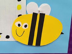 bee craft to go along with Obedient Bee song