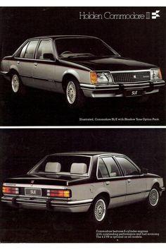 Holden VB Commodore SL/E Australian Muscle Cars, Aussie Muscle Cars, Holden Monaro, Holden Australia, Custom Muscle Cars, Veteran Car, Holden Commodore, Car Posters, Luxury Suv