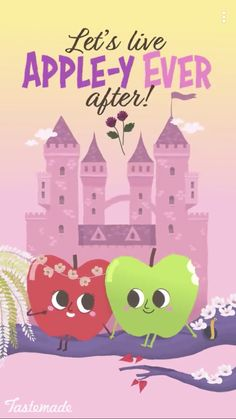"""""""And the lived apple-y ever after. The end."""""""