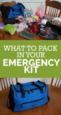 Our Emergency Kit Be Prepared: What to Pack in Your Emergency Kit/Jump BagBe Prepared: What to Pack in Your Emergency Kit/Jump Bag Emergency Go Bag, Emergency Preparedness Food, Emergency Binder, Family Emergency, Emergency Preparation, Emergency Supplies, Survival Prepping, Survival Gear, Survival Quotes