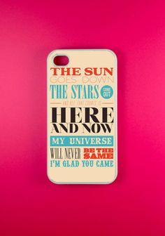 Glad You Came Iphone 4 Case, Iphone 4s Case, Iphone Case
