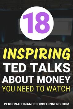 Looking for TED talks that will change your life? These 18 TED talks on money will teach you more about financial principles and inspire you to think and act differently. If you want to learn more about money, these TED talks will motivate you to do just Best Ted Talks, Planning Budget, Financial Planning, Mad Money, Money Saving Tips, Money Tips, Managing Money, Thing 1, Budgeting Tips