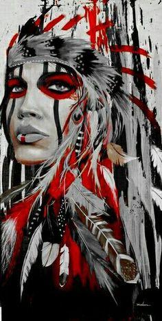Native American Drawing, Native American Tattoos, Native American Girls, Native American Paintings, American Indian Art, Native American History, Pop Art Drawing, Art Drawings, Navajo Art