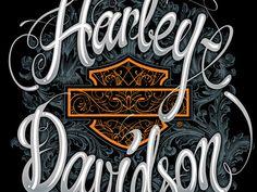 Harley Davidson Wallpaper, Harley Davidson Posters, Harley Davidson Motorcycles, Cow Skull Art, Sugar Skull Art, Little Girl Photography, Pinstriping Designs, Harley Davison, Glitter Wallpaper