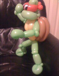 #balloon #ninja turtle #balloon #art #sculptures #twist #characters
