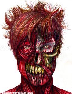☆ Clyde Head Portrait :: Artist Rushelle Kucala ☆