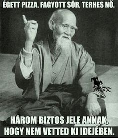 "Morihei Ueshiba, founder of the Japanese martial art of aikido ""All life is a manifestation of the spirit, the manifestation of love. Funny Quotes, Funny Memes, Hilarious, Jokes, Naughty Quotes, Funniest Memes, Aikido, Confucius Say, Confucius Quotes"