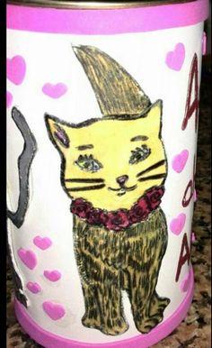 Hucha personalizada gatitos!!!