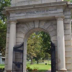 Did you know? More than 10,000 Civil War soldiers are buried in the Marietta National Cemetery.