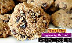65 Calorie Cinnamon Oatmeal Raisin Cookies! – Simply Taralynn