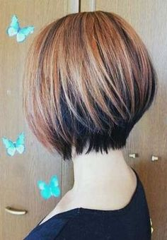 bobbed hairstyles from the back