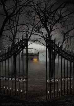 Gate Entry, The Enchanted Wood photo via sandie