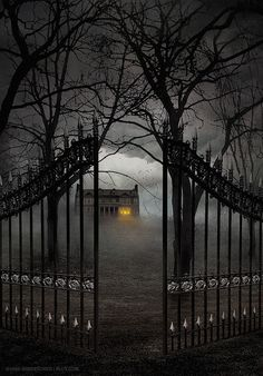 Gate Entry, The Enchanted Wood photo via sandie