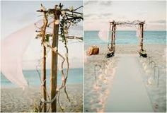rustic beach wedding - Google Search